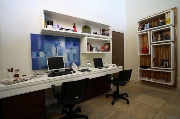 Ideias Simples Para Organizar Seu Home Office 006