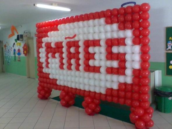 Decoraç u00e3o para o Dia das M u00e3es em escola # Decoração De Festa Para O Dia Das Mães Na Escola