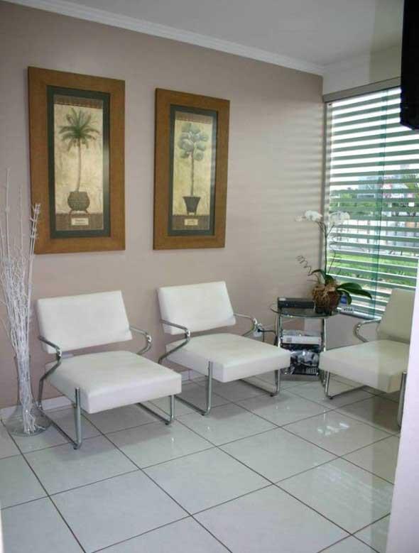 Preferência Decoração para sala de espera de clínica odontológica XW83