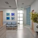 Decoração para sala de espera de clínica odontológica 015