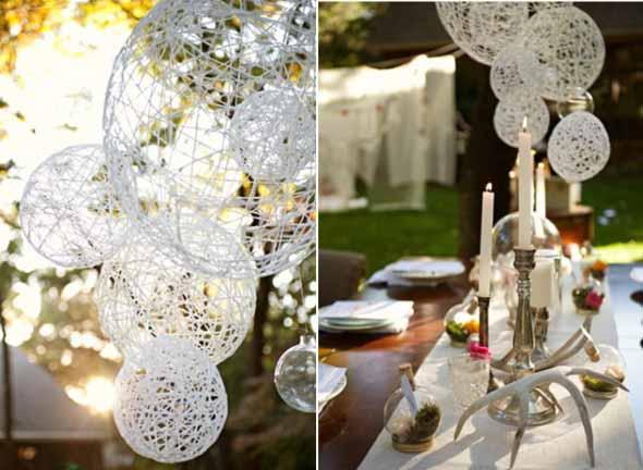 35 ideias DIY para decora??o de casamento
