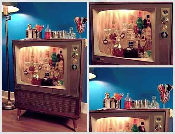 Televis o velha na decora o - Transformar muebles antiguos ...