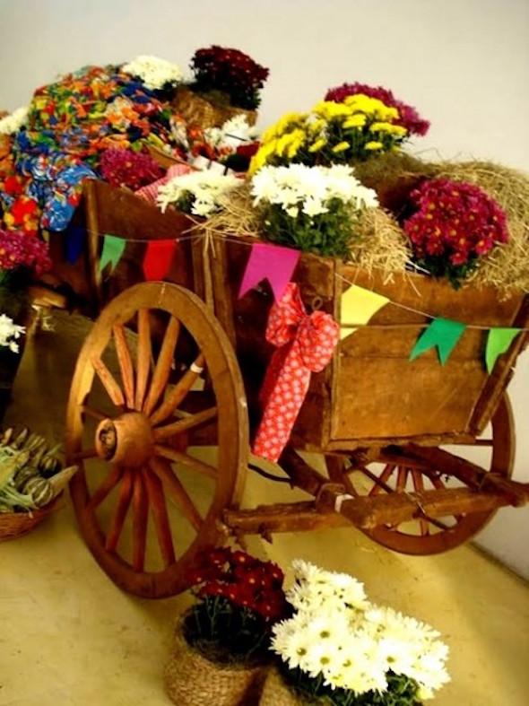 Decoraç u00e3o para festa junina no sítio -> Decoração De Festa Junina Para Escola