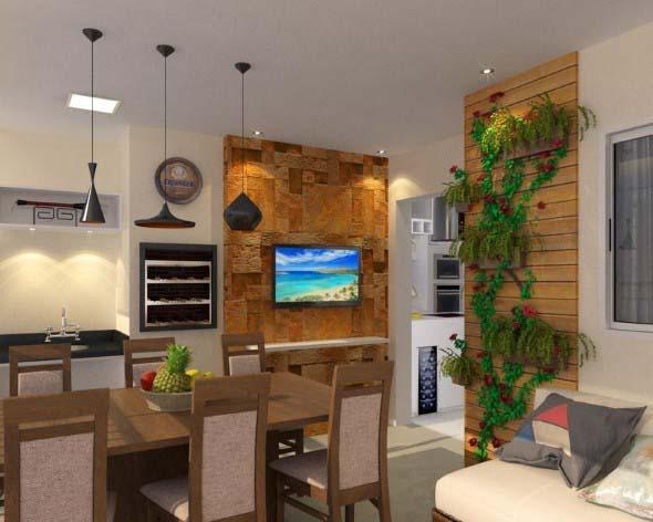 jardim vertical na sala : jardim vertical na sala:Outra dica para salas pequenas é o uso dos mini jardins, que são