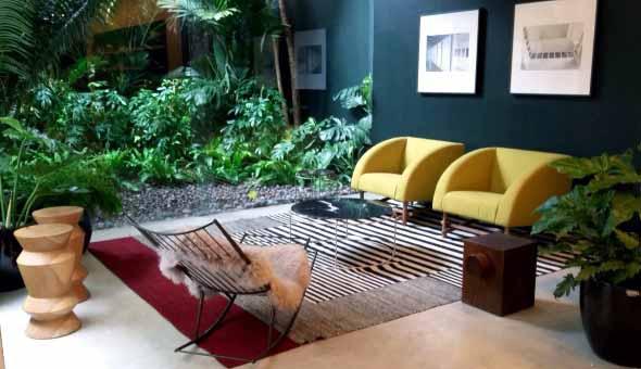 Como ter um jardim na sala de estar 008