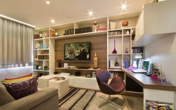 Home Office Em Sala De Estar ~  de escritório pessoal, que foi montado e idealizado na sala de estar