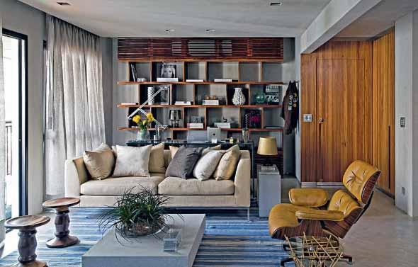 Escritório pessoal na sala de estar 012