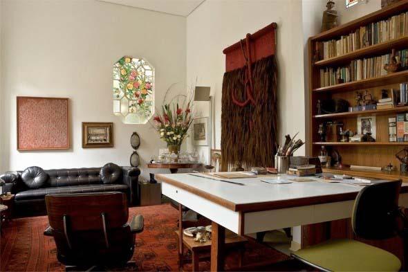 Escritório pessoal na sala de estar 016