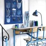 Ideias para reaproveitar jeans usado na decoração 001