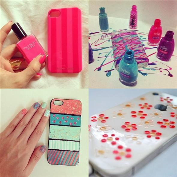 Customizar objetos com esmalte 003