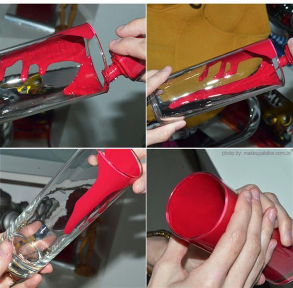 Customizar objetos com esmalte 011