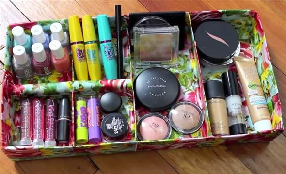 DIY – Organizador de maquiagens 002