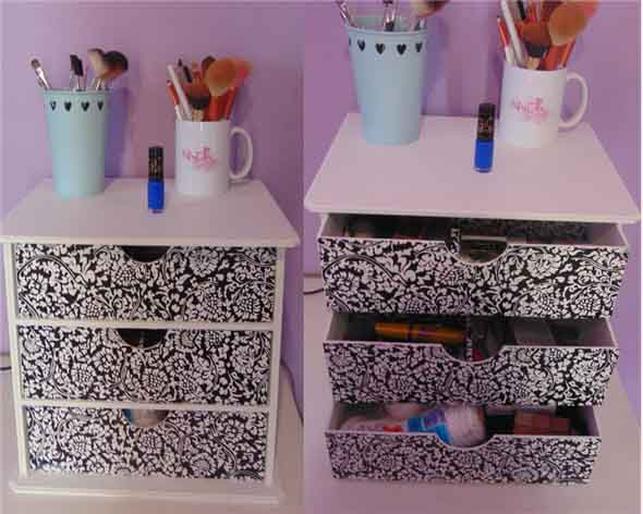 DIY – Organizador de maquiagens 003