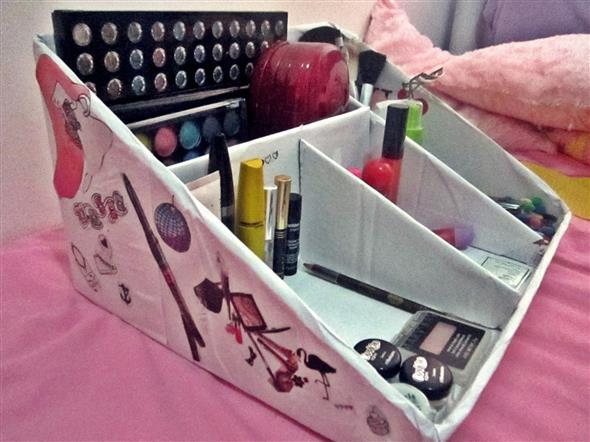 DIY – Organizador de maquiagens 007