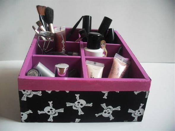 DIY – Organizador de maquiagens 008