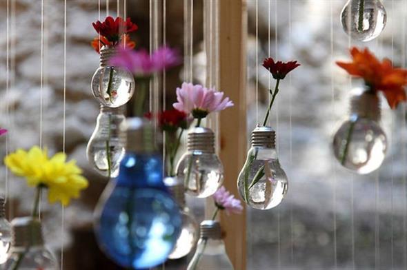 Decoração com lâmpadas queimadas 003