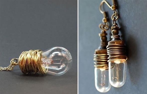 Decoração com lâmpadas queimadas 016