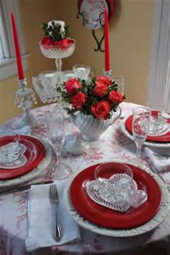 Decoração para o jantar do Dia dos Namorados 001