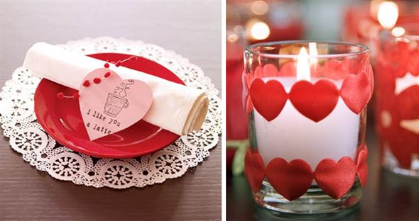 Decoração para o jantar do Dia dos Namorados 002