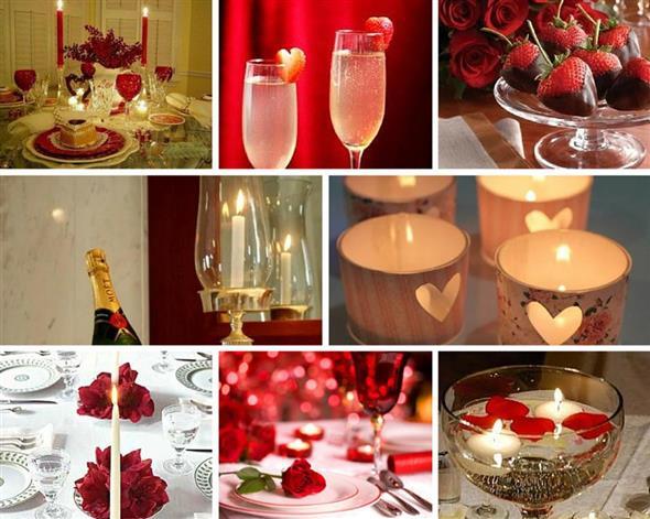 30 ideias de decoraç u00e3o para o jantar do Dia dos Namorados -> Decoração De Restaurante Para Dia Dos Namorados