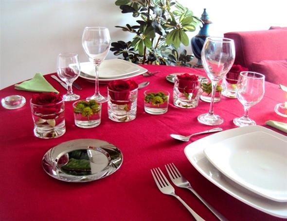 Decoração para o jantar do Dia dos Namorados 004