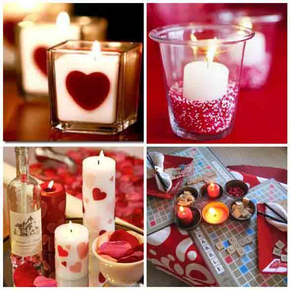 30 ideias de decoração para o jantar do Dia dos Namorados ~ Quarto Romantico Para Namorado