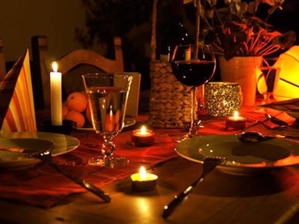 Decoração para o jantar do Dia dos Namorados 014