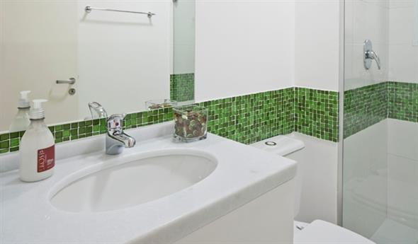 Decorar o banheiro com pastilhas 002