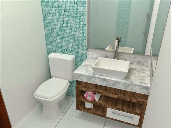 Decorar o banheiro com pastilhas 006