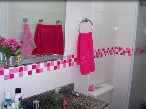 Decorar o banheiro com pastilhas 014
