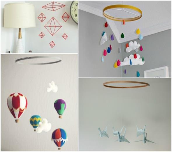 Faça o seu móbile decorativo para o quarto do bebê 002
