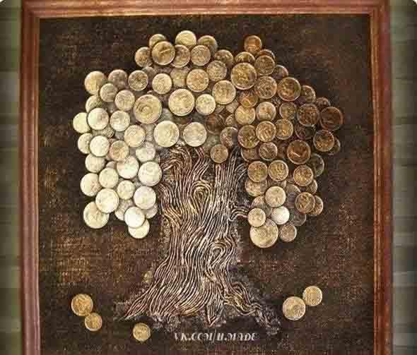 Картины и поделки из дерева