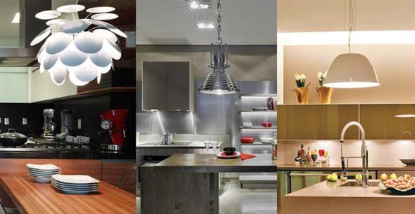 ... de investir em lumin?rias para decorar a cozinha de sua casa, com
