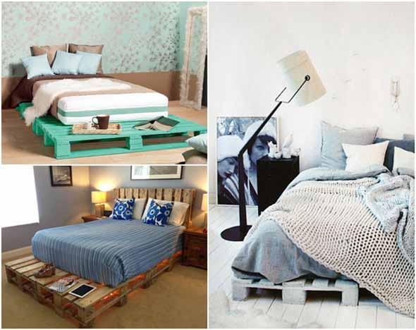 Como fazer uma cama de paletes 013
