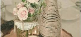 Decoração de casamento em estilo rústico