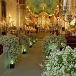 Decorar igreja para casamento 001