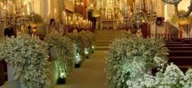 18 ideias para decorar igreja para casamento