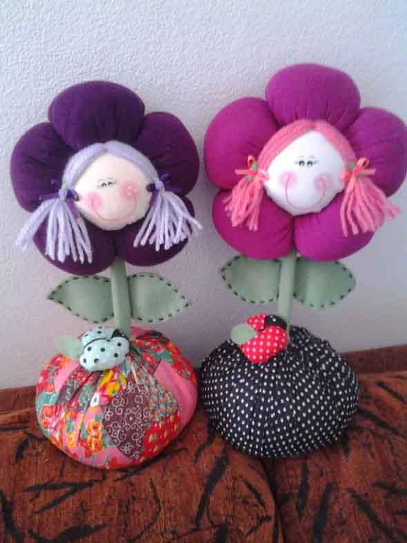 Artesanato Zilda Mateus ~ 20 ideias de artesanato com flores de fuxico