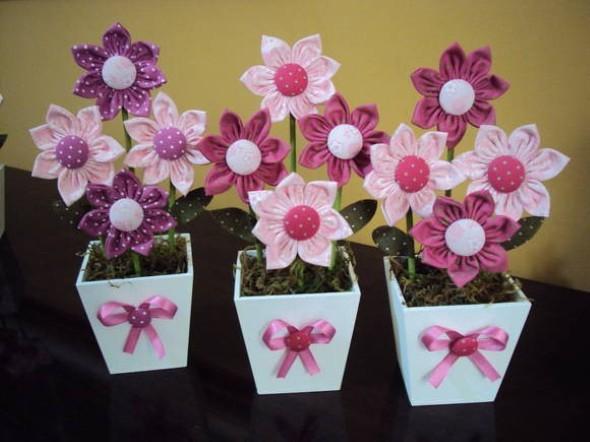 Aparador Retro Casas Bahia ~ 20 ideias de artesanato com flores de fuxico