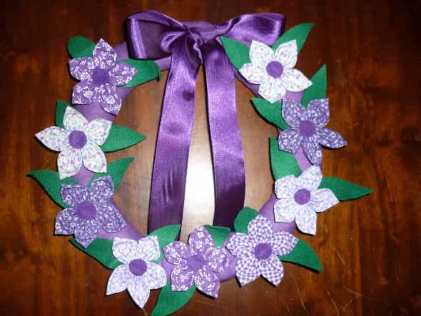 Adesivo De Flores Para Roupas ~ 20 ideias de artesanato com flores de fuxico