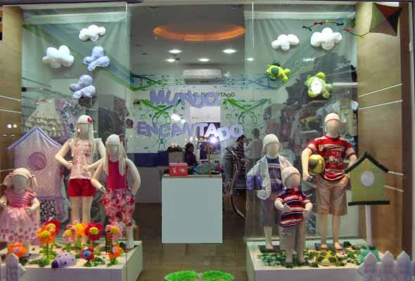 Decoraç u00e3o de vitrines para Dia das Crianças -> Decoração De Montras Em Ingles