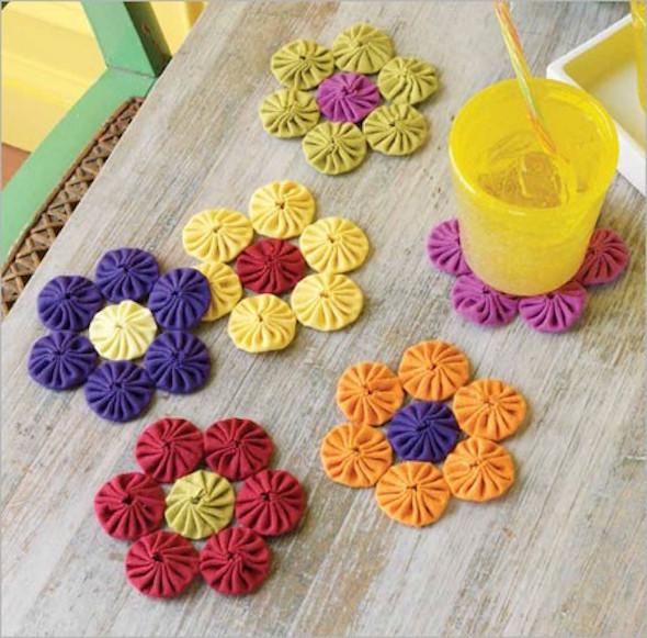 Armario Para Joyeria ~ 20 ideias de artesanato com flores de fuxico