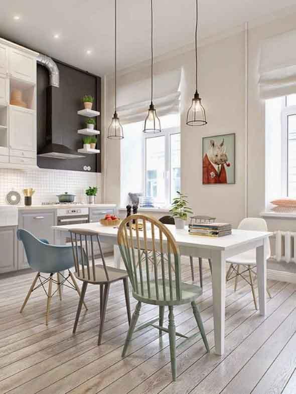 Decora o escandinava nos ambientes da casa for Casa escandinava
