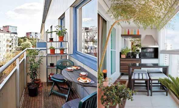 25 Dicas simples para decorar a varanda -> Decoração Para Varanda De Apartamento Simples