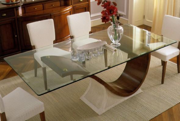 Modelos de mesas de jantar modernas