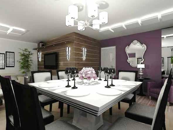 mesas de jantar modernas : Modelos de mesas de jantar modernas