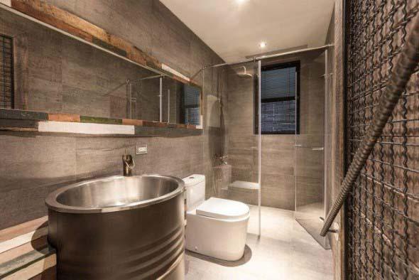 Decoração industrial no banheiro -> Decoracao Banheiro Atual