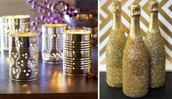 Decoraç u00e3o simples e barata para o ano novo -> Decoração De Ano Novo Simples E Barata