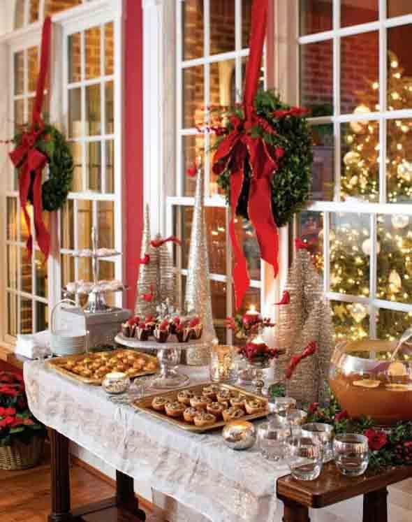 Como decorar e enfeitar a mesa para o natal dicas e sugest es para inspirar - Elegante weihnachtsdeko ...