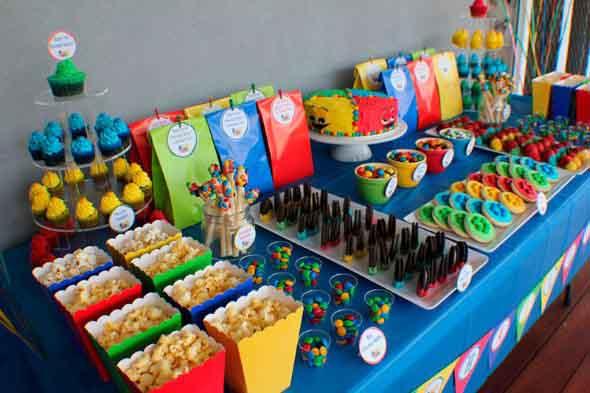 Ideias para servir comida em festa infantil 005